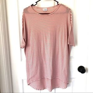 LulaRoe High Low 1/4 Length Sleeve Tunic Top XXS
